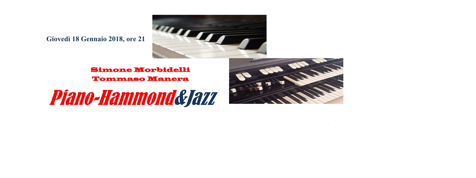 PIANO-HAMMOND & JAZZ