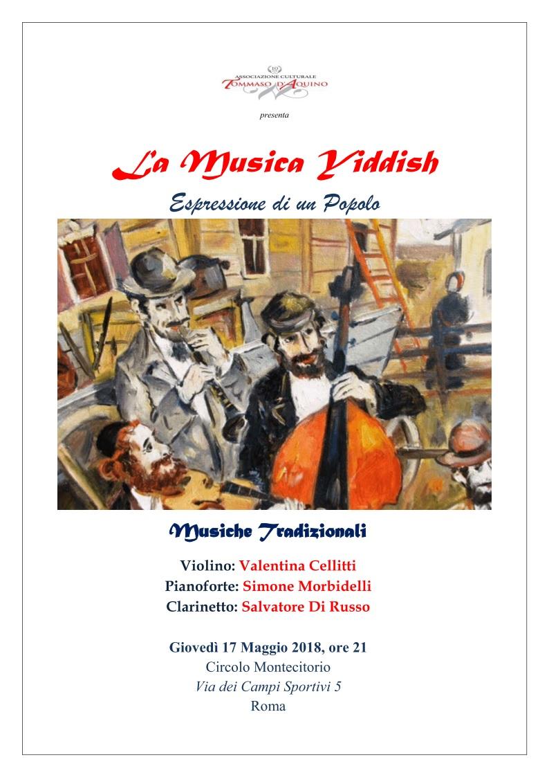 La MUSICA YIDDISH: ESPRESSIONE di un POPOLO