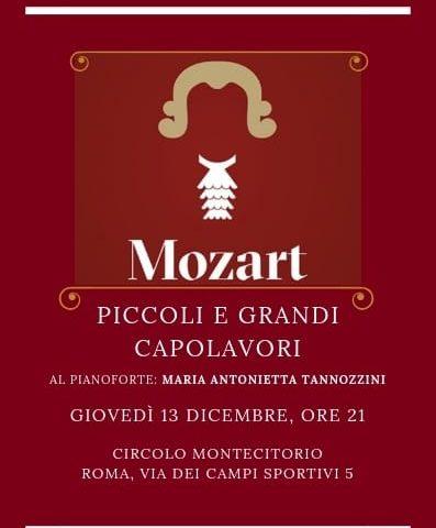 Maretta Tannozzini esegue Mozart