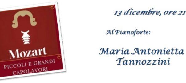 Mozart Piccoli e Grandi Capolavori - Maria Antonietta Tannozzini