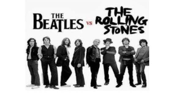 """Beatles vs the Rolling Stones"""
