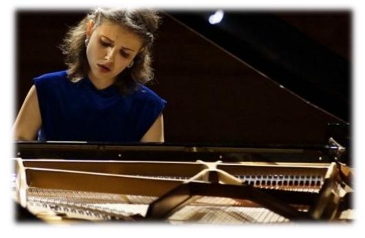 Elena Nefedova per l'Associazione Tommaso d'Aquino 1.o concerto stagione 2019-2020