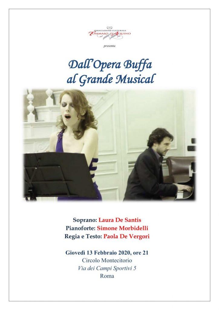 Stagione Concertistica 2019-20 dell'Associazione Culturale Tommaso d'Aquino e Scuola di Musica Cimapi